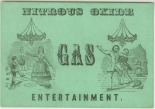 Nitrous Oxide Gas Entertainment, ca. 1846, in the Social Events Collection. Museum of the City of New York. 34.80.245.
