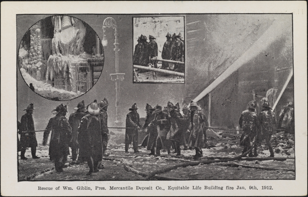 100 Years Ago The Equitable Building Fire Mcny Blog