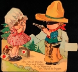 Comic Valentine card. ca. 1920. Museum of the City of New York. 03.49.1