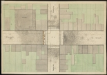 Map of Intersection of Spring Street and Varick Street, ca.1850, in the Map Collection. Museum of the City of New York. 29.100.2984.