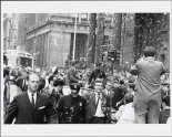 Burton Berinsky. John F. Kennedy and Jacqueline Kennedy in a ticker-tape parade. Museum of the City of New York. X2010.11.10964