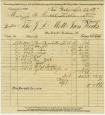 J. L. Mott Ironworks, 1897. in the Bills Collection.  Museum of the City of New York.  97.199.1