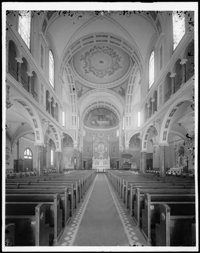 Inside old roman catholic church st jerome s roman catholic