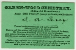 Green-Wood Cemetery Visitor's Pass, 1850, in the Ephemera Collection. Museum of the City of New York. 50.41.149