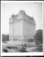 Wurts Bros. 5th Avenue West 58th Street. Central Park South. Plaza Hotel. ca. 1905. Museum of the City of New York. X2010.7.1.730