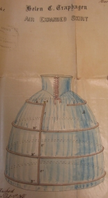 Excerpt from [Patent for Air Air Expanded Skirt], in the Documents Collection. Museum of the City of New York. 36.406.1
