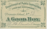 A Good Boy, 1888, in the Ephemera Collection. Museum of the City of New York. 26.103A