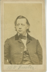 Photographer unknown.Henry Ward Beecher, ca. 1860. Museum of the City of New York. 33.153.1