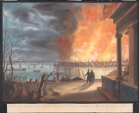 Lewis Taffien. Fire, 1835 (New York from Brooklyn). 1835. Museum of the City of New York. 29.100.2497