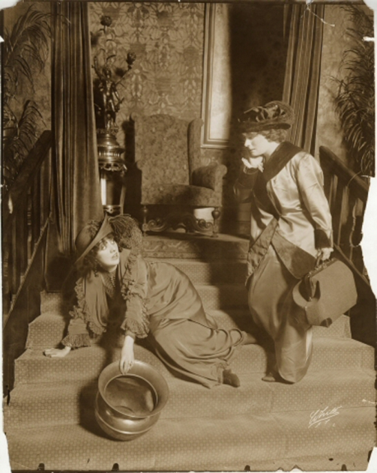 White Studio (New York, N.Y.) Laurette Taylor as Peg and Christine Norman as Ethel.] 1913. Museum of the City of New York. 48.210.1430