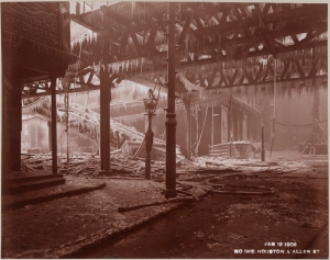 Manhattan Railway Company. Houston & Allen St. 1903. Museum of the City of New York. F2012.53.154A