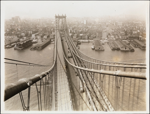 William Davis Hassler. Manhattan Bridge. ca. 1917. Museum of the City of New York. 01.35.1.81