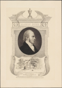 Drawn and engraved by Francis Scott King (1850-1913). Published by the Society of Iconophiles. Aaron Burr. 1902. Museum of the City of New York. X2011.5.503