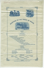 Reception of the Prince of Wales, 1860, in the Society Collection. Museum of the City of New York. 34.241.8.