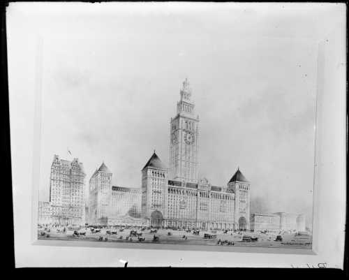 McKim, Mead & White. Grand Central Terminal proposal. ca. 1903. museum of the City of New York. 90.44.1.486