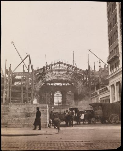 Dr. Percy Fridenberg. Construction of Grand Central Terminal. ca. 1911. Museum of the City of New York. X2010.11.5467.