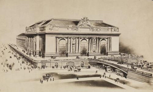 Unknown. Grand Central Terminal. ca. 1910. Museum of the City of New York. X2010.11.2818.