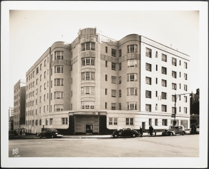 Wurts Bros. (New York, N.Y.) 888 Grand Concourse. Apartment building. 1937. Museum of the City of New York. X2010.7.2.7464