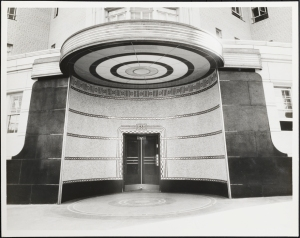 Wurts Bros. (New York, N.Y.) 888 Grand Concourse. Apartment building. Entrance. 1937. Museum of the City of New York. X2010.7.2.7467