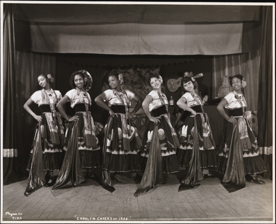 """Byron Company (New York, N.Y.). Amateur Productions, """"Carolyn Capers of 1935,"""" 1935. Museum of the City of New York. 93.1.1.20074"""