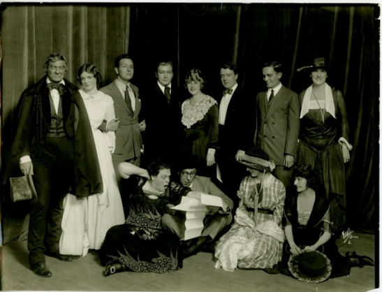 White Studio. [Actors' Equity Strike - The Committee.] 1919. Museum of the City of New York. 37.361.102.
