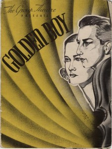 Souvenir program. Golden Boy, ca. 1937. Museum of the City of New York. 43.308.5.