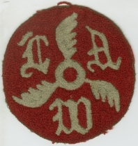 League of American Wheelman Sweater Patch, 1896, in the Sports COllection.  Museum of the City of New York. 49.300.1.