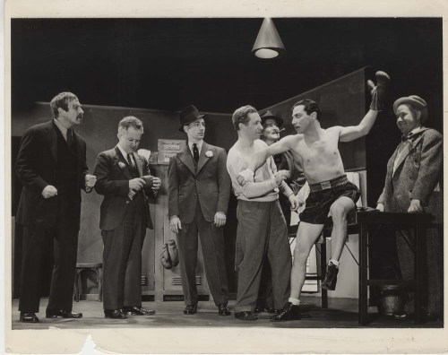 Alfredo Valente. [Scene in the dressing room from Golden Boy.] 1937. Museum of the City of New York. 68.80.8863.