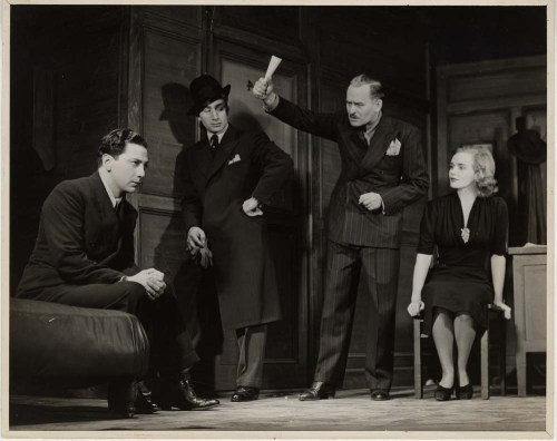 Alfredo Valente. [Scene from Golden Boy.] 1937. Museum of the City of New York. 68.80.8864.