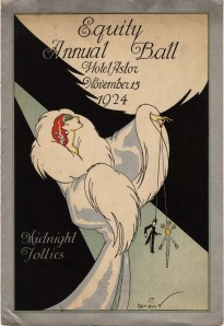 Program. Equity Annual Ball, 1924. Museum of the City of New York. F2013.50.1