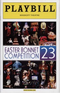 Program for Easter Bonnet Competition, 2009. Museum of The City of New York. F2013.50.4