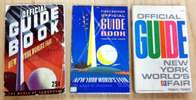 Official Guidebooks, 1939 and 1964, in the New York World's Fair collection.  Museum of the City of New York.