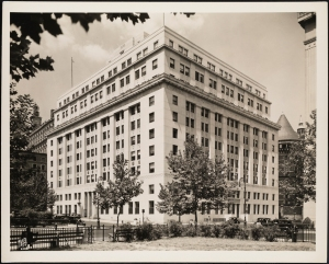 Wurts Bros. (New York, N.Y.). 125 Worth Street. City of New York, Health Building. 1936. Museum of the City of New York. X2010.7.2.6879