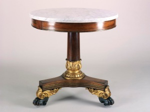 Courtesy, Winterthur Museum, Center Table, Overall, Bequest of Henry Francis du Pont, 1957.944