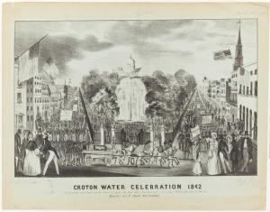 Joseph Fairfield Atwill (1811-1891). Croton Water Celebration 1842. 1842. Museum of the City of New York. 29.100.2036