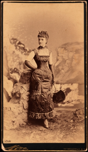 "Mora (b.1849). Miss Elizabeth ""Bessie"" Remsen Webb (later Mrs. George B. Parsons). 1883. Museum of the City of New York. 41.132.46"