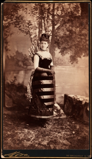 Mora (b. 1849). Mrs. William Seward Webb (neé Lila O. Vanderbilt). 1883. Museum of the City of New York. 41.132.63