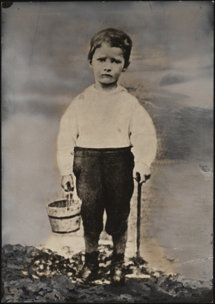 Alfred E. Smith at Coney Island, age 4. 1877. Museum of the City of New York. 45.117.239