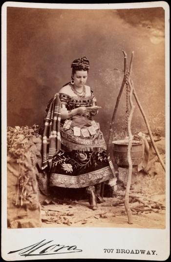 Mora (b. 1849). Mrs. William Garner. ca. 1873. Museum of the City of New York. F2012.58.1292.
