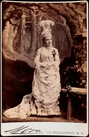 Mora (b. 1849). Mrs. James P. Kernochan (neé Katherine Lorillard. 1883. Museum of the City of New York. F2012.58.1300.