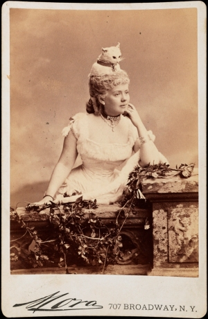 Mora (b. 1849). Miss Kate Fearing Strong (later Mrs. Arthur Welman). 1883. Museum of the City of New York. F2012.58.1460.