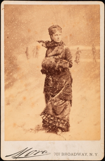 Mora (b. 1849). Mrs. August Belmont. ca. 1880. Museum of the City of New York. F2012.58.68.