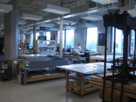 Northeast Document Conservation Center lab. Andover, Massachusetts, 2012.