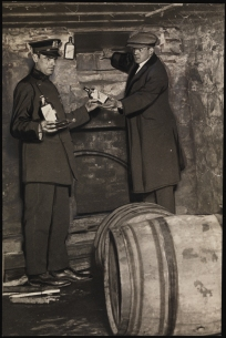 Unknown. Liquor Valued at More than $100,000 Seized by Police at 2501 Pitkin Avenue, Brooklyn, 1921. Cityana Collection. Museum of the City of New York. 91.69.19.