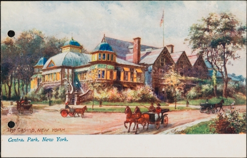 X2011.34.4545 Charles F. Flower and Raphael Tuck & Sons. Central Park, New York. ca. 1905. Museum of the City of New York. X2011.34.4545