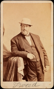 [William M. Tweed.] Sarony & Co., ca. 1869.  40.366.30.  Portrait Archive.  Museum of the City of New York.