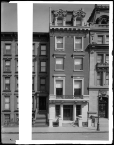 Wurts Bros. (New York, N.Y.). 7 West 51st Street. Graves House. ca. 1905. Museum of the City of New York. X2010.7.1.796