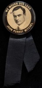 We Mourn our Loss, John Purroy Mitchel. 1917. 34.100.270U