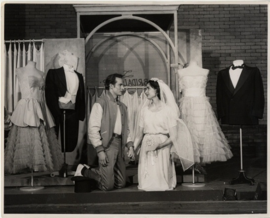 Fred Fehl. [Larry Kert as Tony and Carol Lawrence as Maria.] 1957. Museum of the City of New York. 68.80.2959