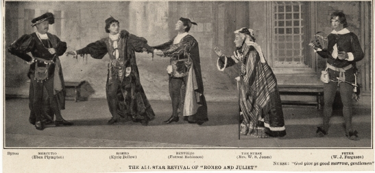 Clipping from The Theatre, Vol. III, no. 28, June 1903. Museum of the City of New York collection on Broadway productions, Romeo and Juliet file.